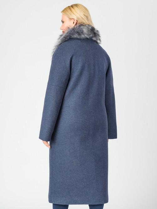 Текстильное пальто артикул 26006813/46 - фото 3