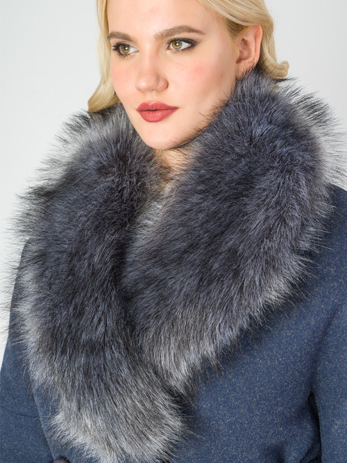 Текстильное пальто артикул 26006813/46 - фото 4