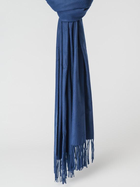 Шарф 100% кашемир, цвет темно-синий, арт. 26007148  - цена 1490 руб.  - магазин TOTOGROUP