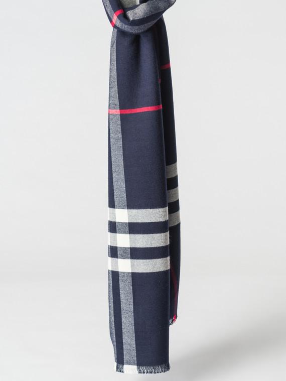 Шарф 100% кашемир, цвет темно-синий, арт. 26007163  - цена 1130 руб.  - магазин TOTOGROUP