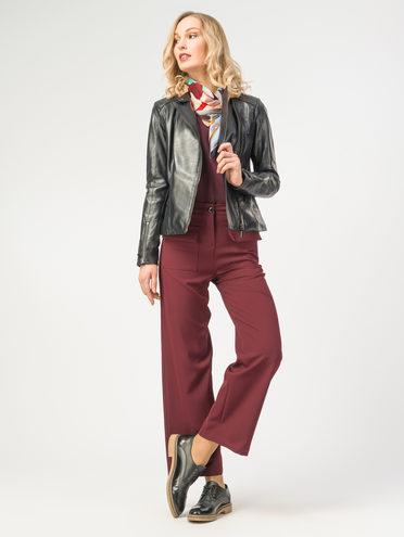Кожаная куртка кожа , цвет темно-синий, арт. 26106306  - цена 9490 руб.  - магазин TOTOGROUP
