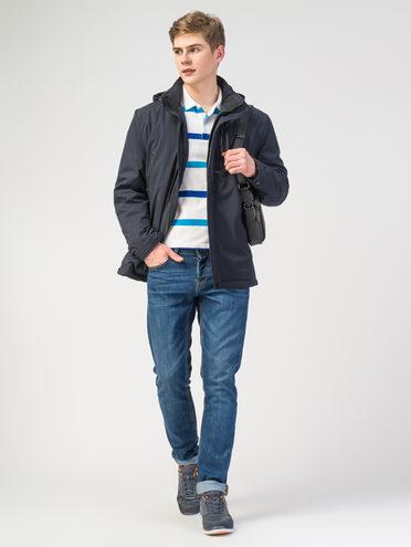 Ветровка текстиль, цвет темно-синий, арт. 26108048  - цена 3590 руб.  - магазин TOTOGROUP