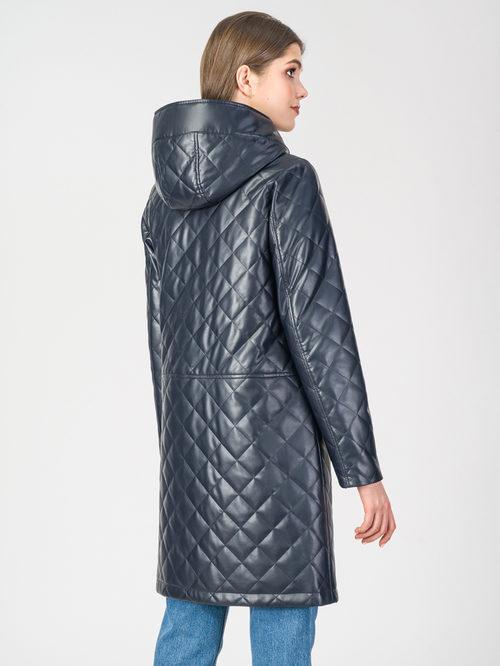 Кожаное пальто артикул 26108088/42 - фото 3