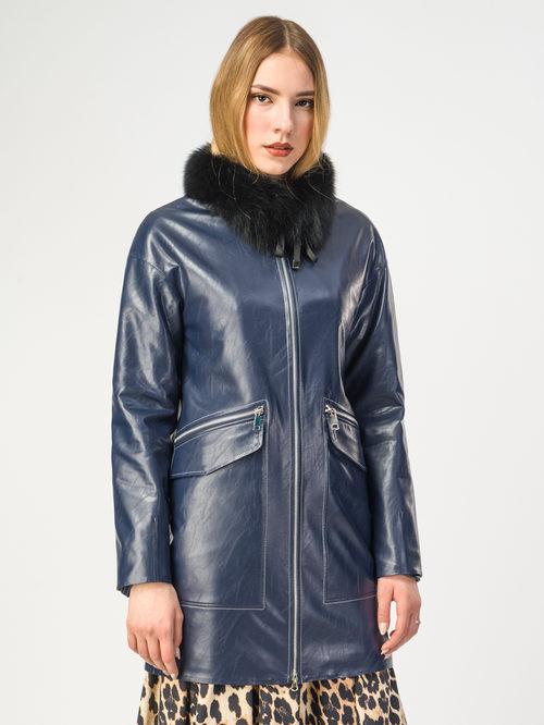 Кожаная куртка артикул 26108152/42 - фото 2