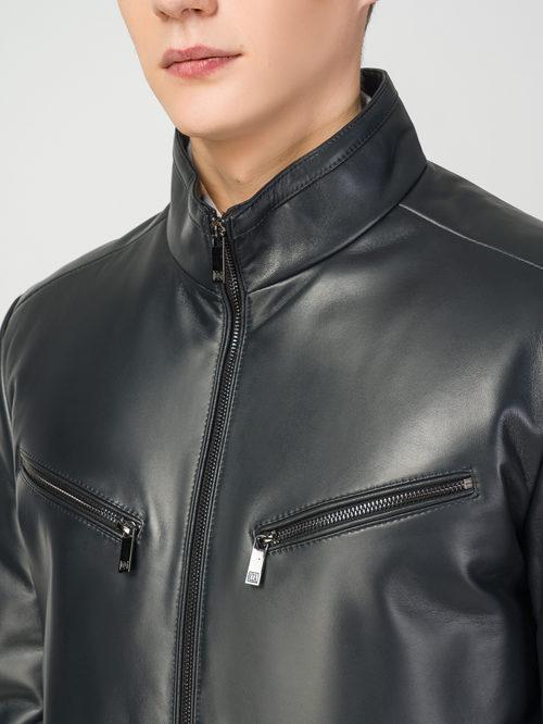 Кожаная куртка артикул 26108238/48 - фото 4