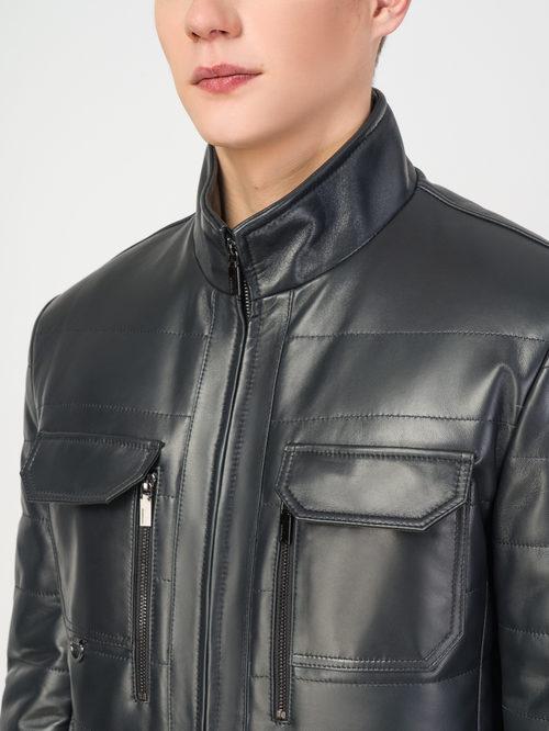 Кожаная куртка артикул 26108239/48 - фото 4