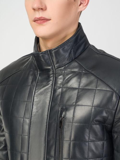 Кожаная куртка артикул 26108240/48 - фото 4
