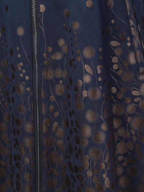 Кожаное пальто артикул 26108273/42 - фото 4