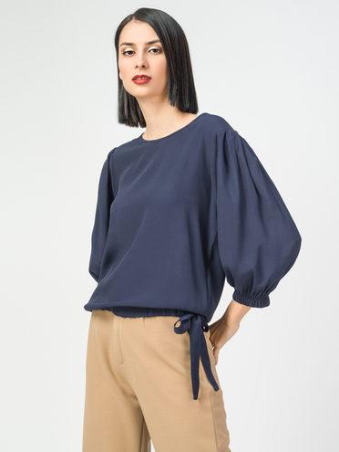 Блуза 100% вискоза, цвет темно-синий, арт. 26108321  - цена 1570 руб.  - магазин TOTOGROUP