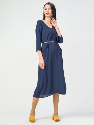 Платье 100% вискоза, цвет темно-синий, арт. 26108322  - цена 1660 руб.  - магазин TOTOGROUP