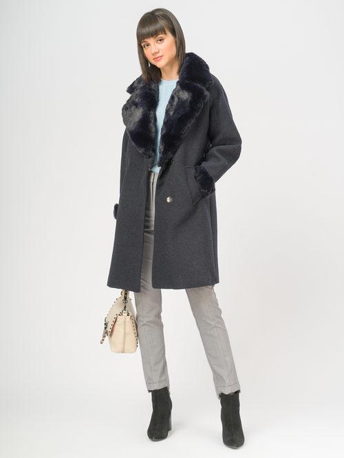 Текстильное пальто артикул 26109134/42 - фото 2
