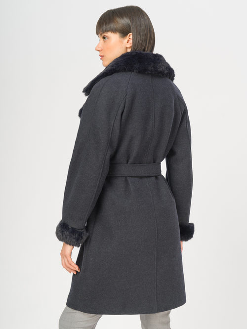 Текстильное пальто артикул 26109134/42 - фото 3