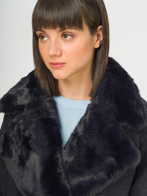 Текстильное пальто артикул 26109134/42 - фото 4