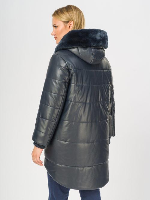 Кожаное пальто артикул 26109158/46 - фото 3
