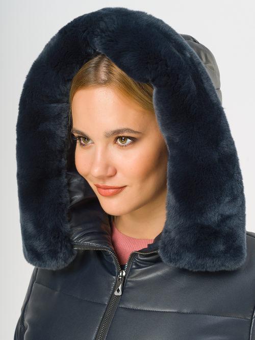 Кожаное пальто артикул 26109158/46 - фото 4