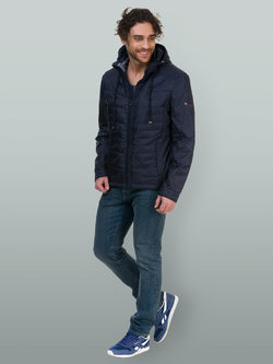 Ветровка текстиль, цвет темно-синий, арт. 26700172  - цена 5890 руб.  - магазин TOTOGROUP