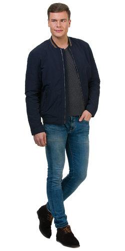 Ветровка текстиль, цвет темно-синий, арт. 26700176  - цена 3990 руб.  - магазин TOTOGROUP