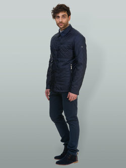 Ветровка текстиль, цвет темно-синий, арт. 26700178  - цена 4941 руб.  - магазин TOTOGROUP