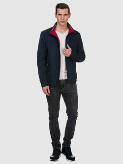 Ветровка текстиль, цвет темно-синий, арт. 26700183  - цена 4990 руб.  - магазин TOTOGROUP