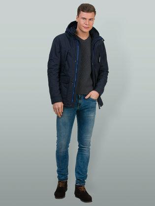 Ветровка текстиль, цвет темно-синий, арт. 26700185  - цена 5690 руб.  - магазин TOTOGROUP