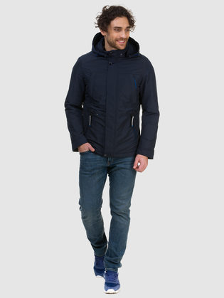 Ветровка текстиль, цвет темно-синий, арт. 26700187  - цена 5590 руб.  - магазин TOTOGROUP