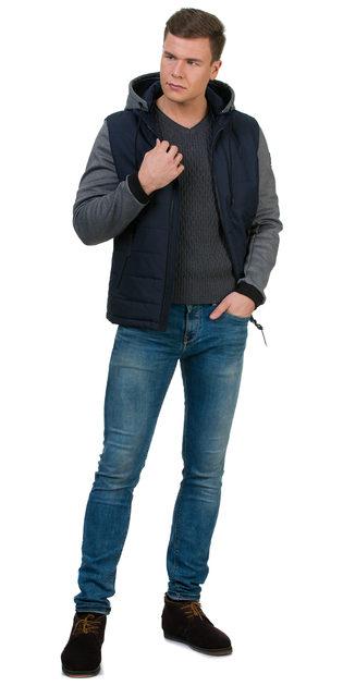 Ветровка текстиль, цвет темно-синий, арт. 26700188  - цена 5990 руб.  - магазин TOTOGROUP