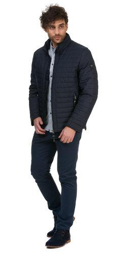 Ветровка текстиль, цвет темно-синий, арт. 26700192  - цена 2290 руб.  - магазин TOTOGROUP