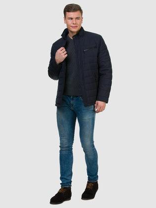 Ветровка текстиль, цвет темно-синий, арт. 26700193  - цена 5990 руб.  - магазин TOTOGROUP