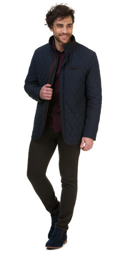 Ветровка текстиль, цвет темно-синий, арт. 26700234  - цена 5490 руб.  - магазин TOTOGROUP