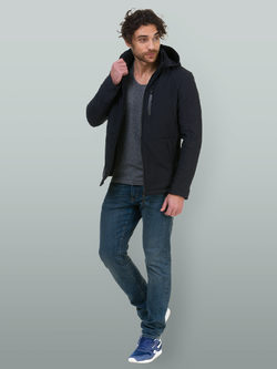 Ветровка текстиль, цвет темно-синий, арт. 26700237  - цена 4490 руб.  - магазин TOTOGROUP