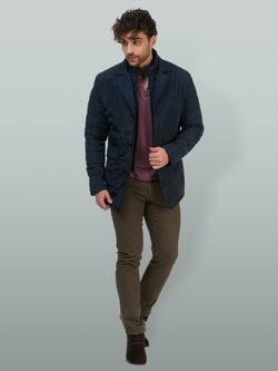 Ветровка текстиль, цвет темно-синий, арт. 26700252  - цена 5890 руб.  - магазин TOTOGROUP