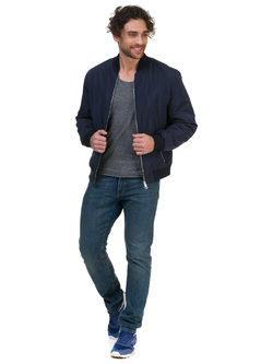 Ветровка текстиль, цвет темно-синий, арт. 26700260  - цена 4990 руб.  - магазин TOTOGROUP