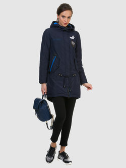 Ветровка текстиль, цвет темно-синий, арт. 26700359  - цена 4990 руб.  - магазин TOTOGROUP