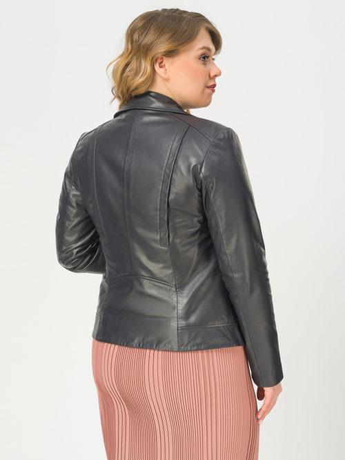 Кожаная куртка артикул 26802500/48 - фото 3