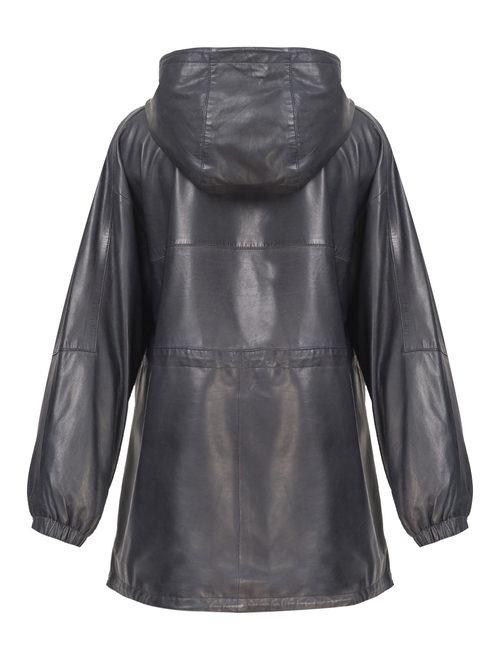 Кожаная куртка артикул 26802510/50 - фото 2