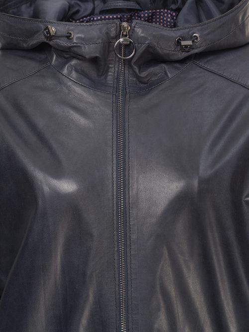 Кожаная куртка артикул 26802510/50 - фото 3