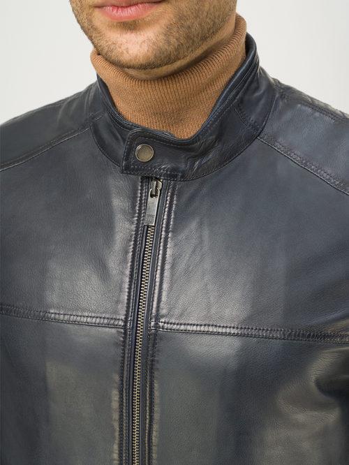 Кожаная куртка артикул 26809232/46 - фото 4