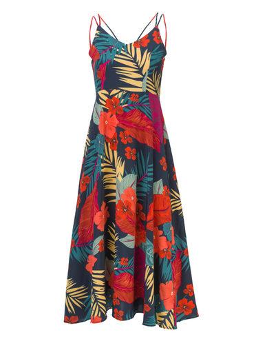 Платье , цвет темно-синий, арт. 26810559  - цена 1260 руб.  - магазин TOTOGROUP