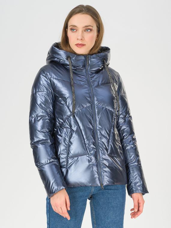Пуховик 100% полиэстер, цвет темно-синий, арт. 26810560  - цена 4990 руб.  - магазин TOTOGROUP