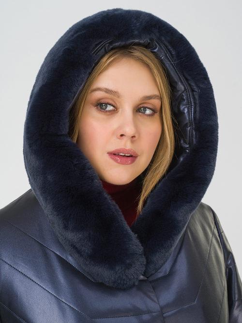 Кожаное пальто артикул 26810767/52 - фото 3