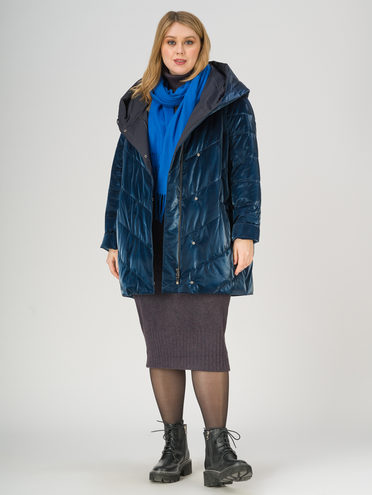 Пуховик 100% полиэстер, цвет темно-синий, арт. 26810980  - цена 25590 руб.  - магазин TOTOGROUP