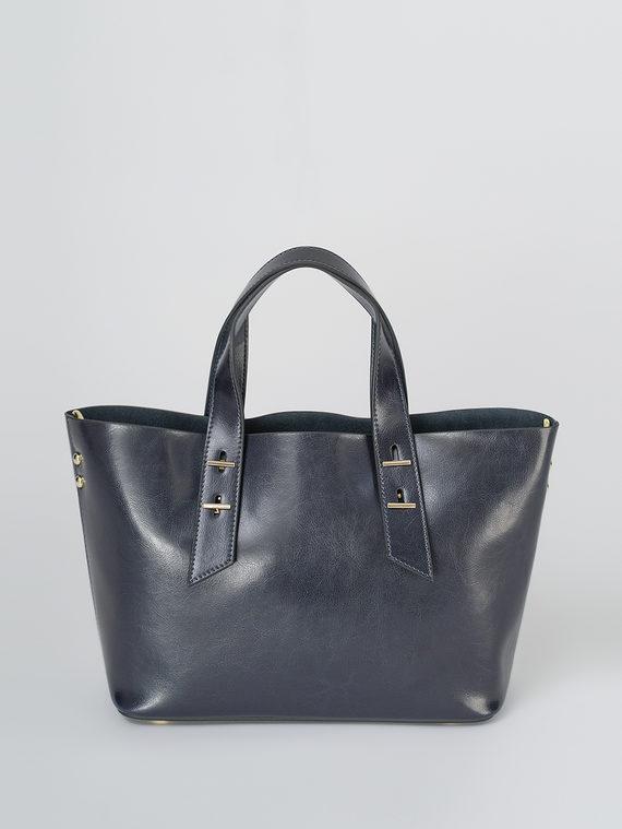 Сумка кожа теленок, цвет темно-синий, арт. 26811108  - цена 5890 руб.  - магазин TOTOGROUP