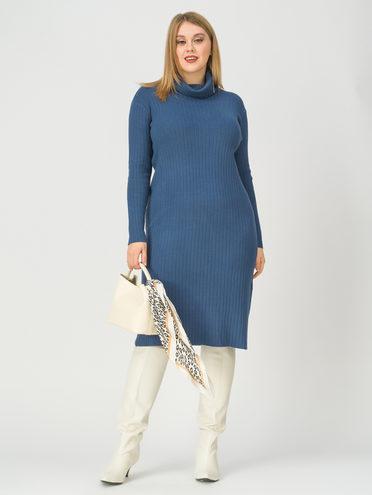 Платье 30% П/Э, 27% акрил, 23% модал, 20% нейлон, цвет темно-синий, арт. 26811279  - цена 2990 руб.  - магазин TOTOGROUP