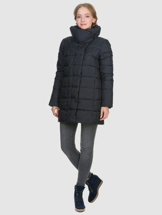 Пуховик текстиль, цвет темно-синий, арт. 26900658  - цена 8990 руб.  - магазин TOTOGROUP
