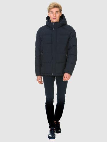 Пуховик текстиль, цвет темно-синий, арт. 26900682  - цена 4990 руб.  - магазин TOTOGROUP