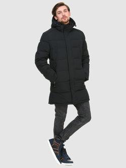 Пуховик текстиль, цвет темно-синий, арт. 26900724  - цена 6990 руб.  - магазин TOTOGROUP