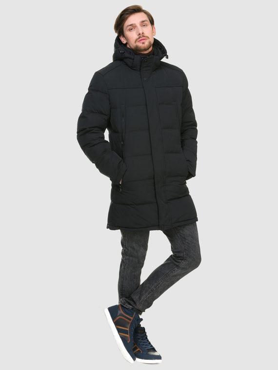 Пуховик текстиль, цвет темно-синий, арт. 26900724  - цена 3990 руб.  - магазин TOTOGROUP