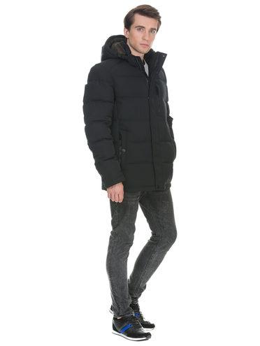 Пуховик текстиль, цвет темно-синий, арт. 26900725  - цена 3990 руб.  - магазин TOTOGROUP