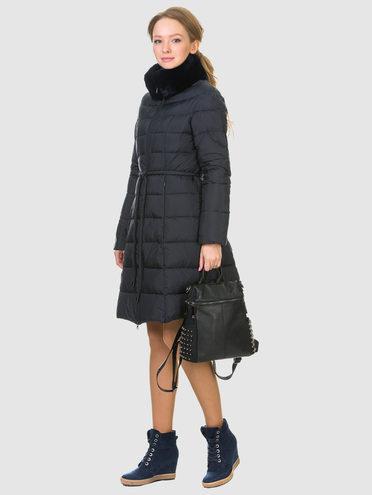 Пуховик текстиль, цвет темно-синий, арт. 26900789  - цена 8490 руб.  - магазин TOTOGROUP