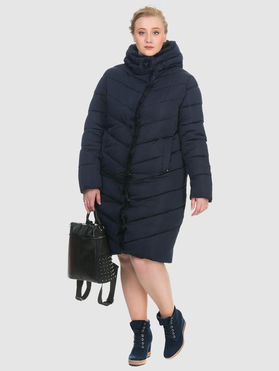 Пуховик текстиль, цвет темно-синий, арт. 26900875  - цена 4990 руб.  - магазин TOTOGROUP